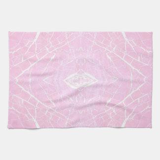 Paño De Cocina Modelo de mármol rosado