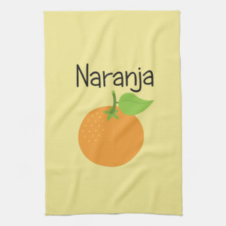 Paño De Cocina Naranja (naranja)