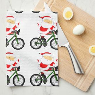 Paño De Cocina Navidad de ciclo