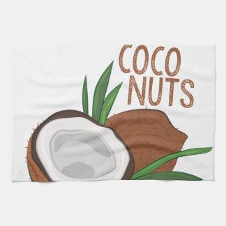 Paño De Cocina Nueces de los Cocos