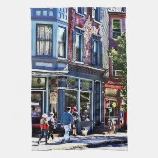 Paño De Cocina PA de Jim Thorpe - compras de la ventana