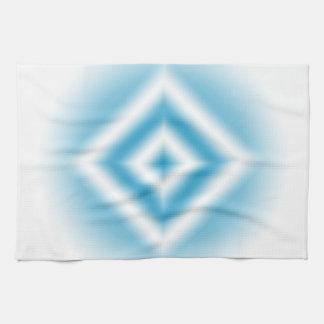 Paño De Cocina pendiente azul del diamante del Personalizar-cielo
