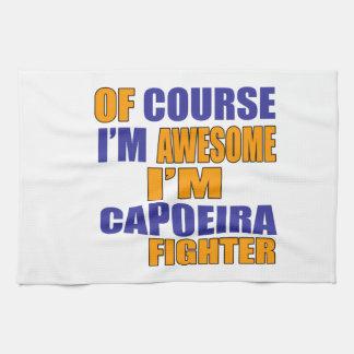 Paño De Cocina Por supuesto soy combatiente de Capoeira
