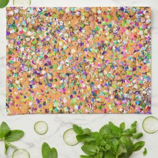 Paño De Cocina Purpurina moderno #9 de la arena del mosaico