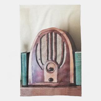 Paño De Cocina Radio de los años 30 del vintage