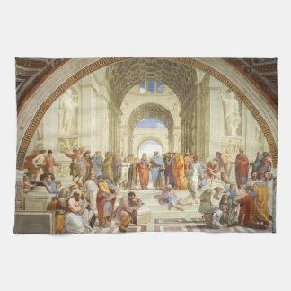 Paño De Cocina Raphael - La escuela de Atenas 1511