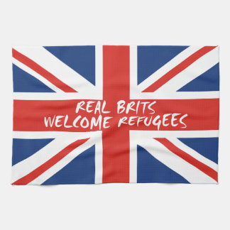 Paño De Cocina Refugiados agradables de los británicos reales