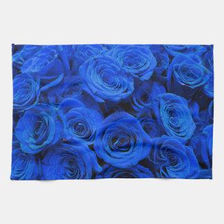 Paño De Cocina Rosas azules