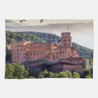 Paño De Cocina Ruinas famosas del castillo, Heidelberg, Alemania