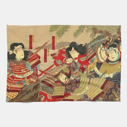Paño De Cocina samurais