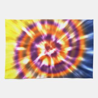 Paño De Cocina Teñido anudado retro Boho colorido de la paz del
