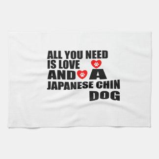 Paño De Cocina Todos usted necesita diseños de los perros de CHIN