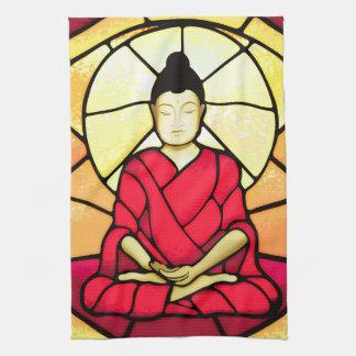 Paño De Cocina Ventana de cristal de la mancha de Bali Buda