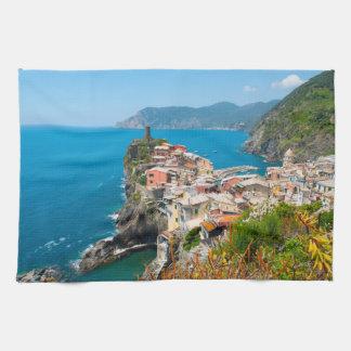Paño De Cocina Vernazza Cinque Terre Italia