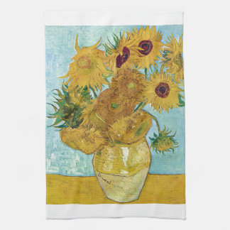 "Paño De Cocina Vincent Willem van Gogh , "" Sunflowers """