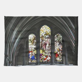 Paño De Cocina Vitral de Transept de la catedral de Salisbury