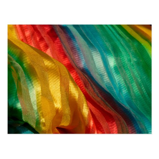 Paño del arco iris del orgullo gay postal