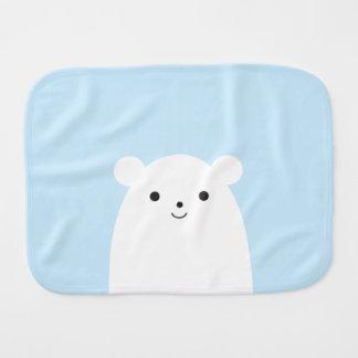 Paño del Burp del bebé del oso polar del Peekaboo Paños Para Bebé
