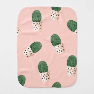 Paño del burp del cactus