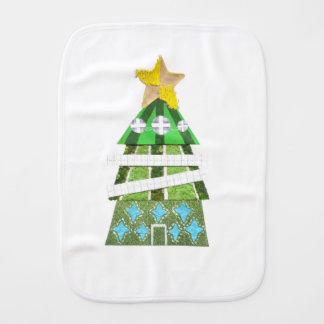 Paño del Burp del hotel del árbol de navidad
