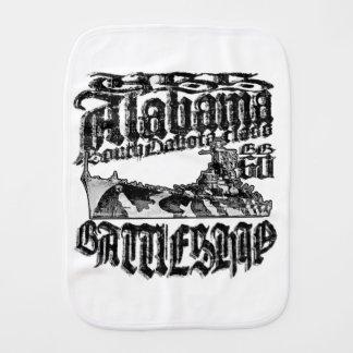 Paño del Burp del paño del Burp de Alabama del
