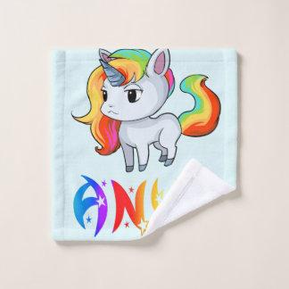 Paño del lavado del unicornio de Anya