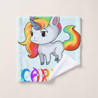 Paño del lavado del unicornio de Carita