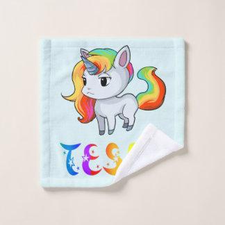 Paño del lavado del unicornio de Tessa