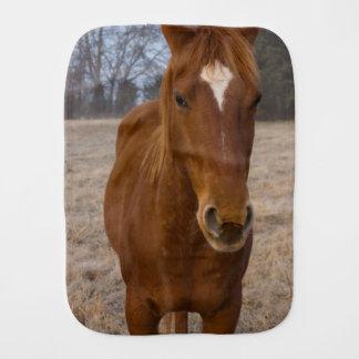Paño Para Bebés Actitud del caballo