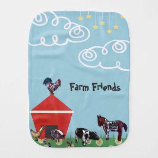 Paño Para Bebés Amigos de la granja