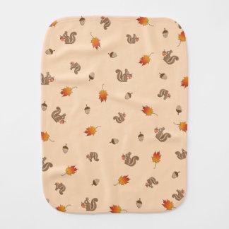 Paño Para Bebés Ardilla del otoño