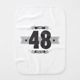 Paño Para Bebés B-día 48 (Dark&Lightgrey)