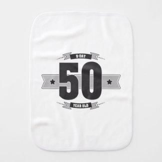 Paño Para Bebés B-día 50 (Dark&Lightgrey)