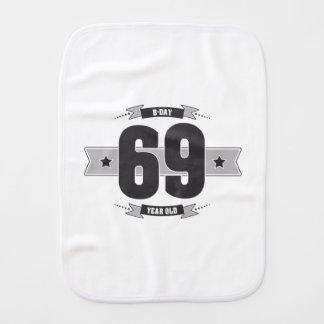 Paño Para Bebés B-día 69 (Dark&Lightgrey)