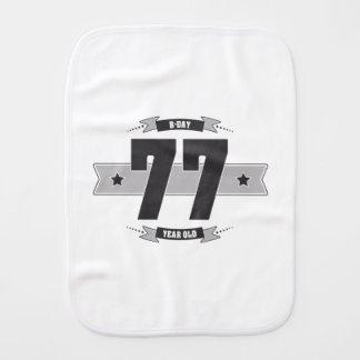 Paño Para Bebés B-día 77 (Dark&Lightgrey)