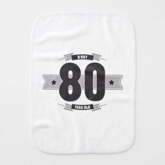 Paño Para Bebés B-día 80 (Dark&Lightgrey)