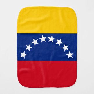 Paño Para Bebés Bandera de Venezuela