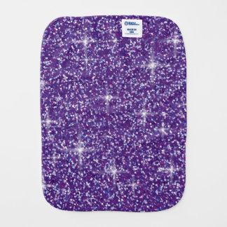 Paño Para Bebés Brillo iridiscente púrpura