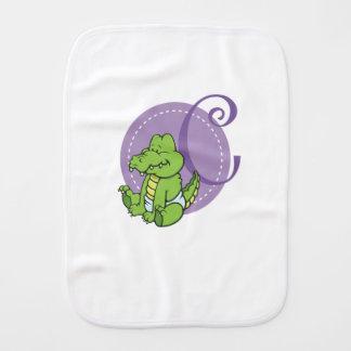Paño Para Bebés C está para el cocodrilo