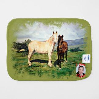 Paño Para Bebés Caballos/Cabalos/Horses