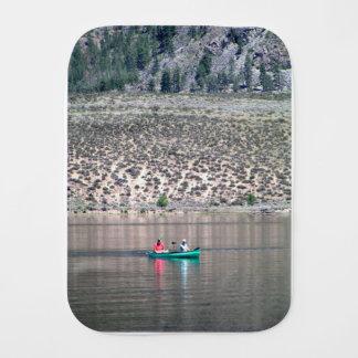 Paño Para Bebés Canoe el río de Similkameen adentro A.C., Canadá