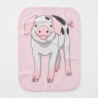 Paño Para Bebés Cerdo viejo lindo de los puntos de Gloucestershire