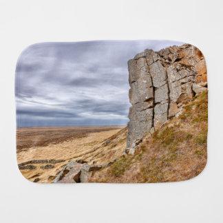 Paño Para Bebés Columnas del basalto en Gerduberg Islandia
