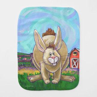Paño Para Bebés Desfile lindo del animal del conejo