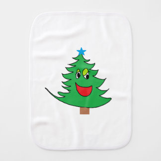 Paño Para Bebés dibujo animado del pino