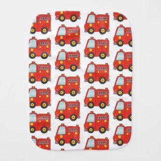 Paño Para Bebés Diseño del modelo del Firetruck de la diversión