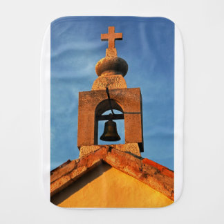 Paño Para Bebés Dorfkirche viejo en la isla Pag en Croacia