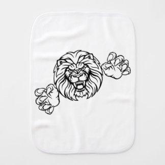 Paño Para Bebés El animal del león se divierte la mascota