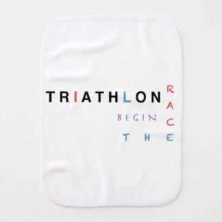 Paño Para Bebés El Triathlon dejó la raza comenzar