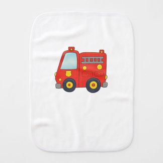 Paño Para Bebés Firetruck adaptable lindo